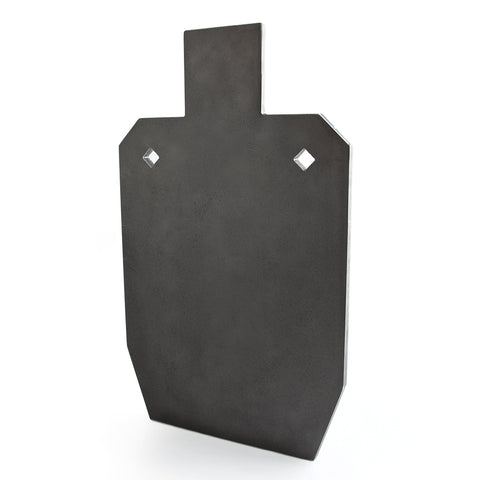 16mm 50% IPSC Style Silhouette BISALLOY®500 Target by Black Carbon, IPSC Target, Black Carbon, Black Carbon