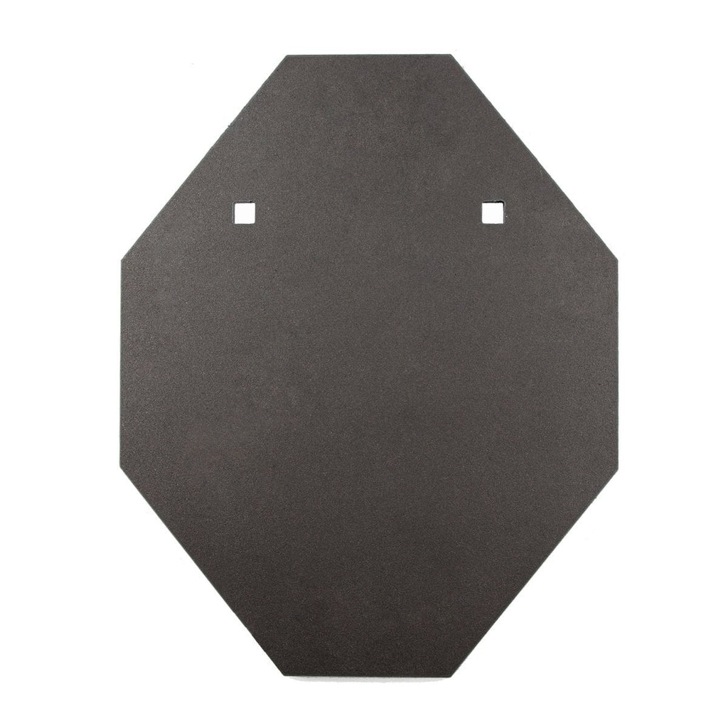 12mm IPSC Style Mini BISALLOY®500 Steel Target by Black Carbon, IPSC Target, Black Carbon, Black Carbon