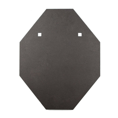 8mm IPSC Style Mini BISALLOY®500 Target by Black Carbon, IPSC Target, Black Carbon, Black Carbon