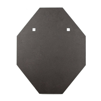 16mm IPSC Style Mini BISALLOY®500 Steel Target by Black Carbon, IPSC Target, Black Carbon, Black Carbon