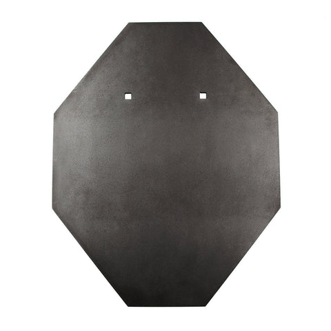 12mm IPSC Style Standard BISALLOY®500 Target by Black Carbon, targets, Black Carbon, Black Carbon