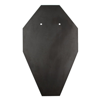 8mm IPSC Style Universal Steel Rifle Target BISALLOY®500 by Black Carbon, IPSC Target, Black Carbon, Black Carbon