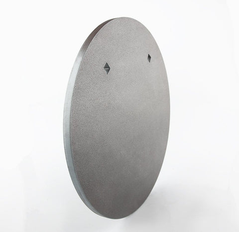 350mm Round Gong 8mm - BISALLOY®500 Target by Black Carbon, targets, Black Carbon, Black Carbon