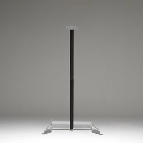 1.8 Meter Upright Target Stand Post Kit, bundle deals, Black Carbon, Black Carbon