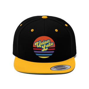 Union Lake Flat Bill Hat