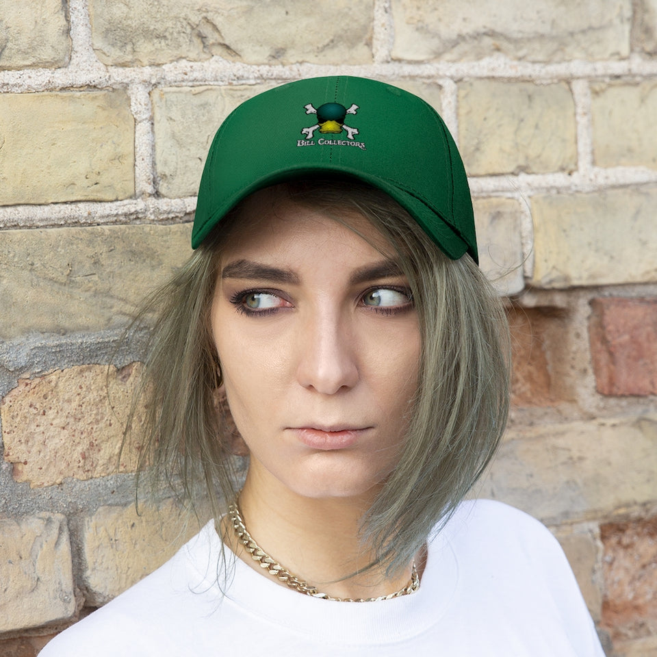 Bill Collectors Hat (Green Logo)