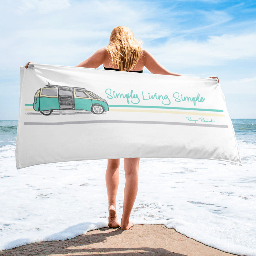 Mini Surf Bus Simply Living Simple Towel
