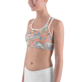 Aloha Patch Sports bra