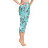 Palm Yoga Capri Leggings