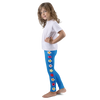 Plumeria Kid's leggings Blue