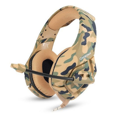 Camo Gaming Headset Digital With Mic [Xbox One | PS4 | PC]