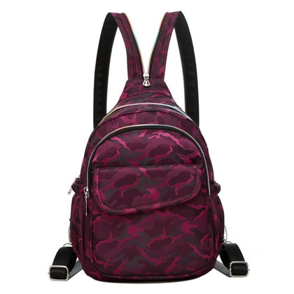 Camo Waterproof Backpacks Nylon Chest Pack - Large