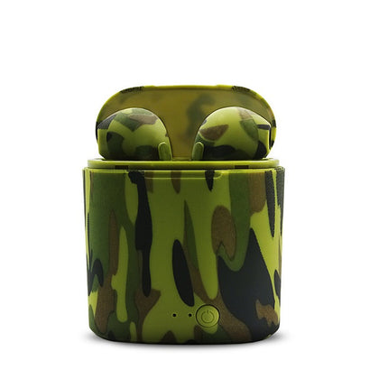 Camo Earphones Wireless Bluetooth