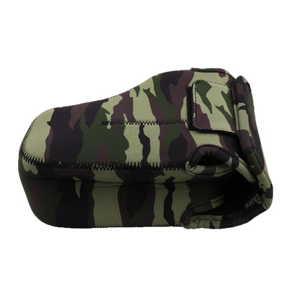 Camo Waterproof Lens Bag - Universal for SLR DSLR