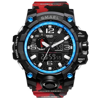 SMAEL Digital Camo Watch