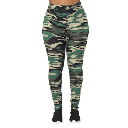 Camo Women Tights [Sport]