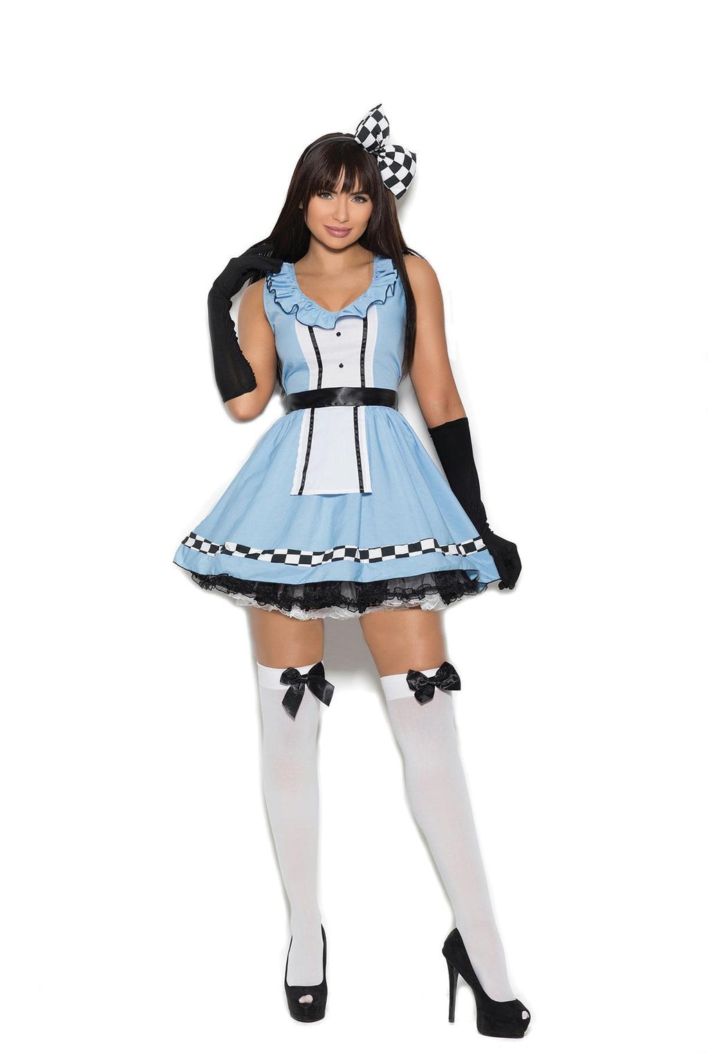 Storybook Alice - 4 pc. costume includes dress, head piece, apron and gloves.