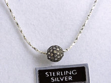 Load image into Gallery viewer, Diamond Pendent in Sterling Silver