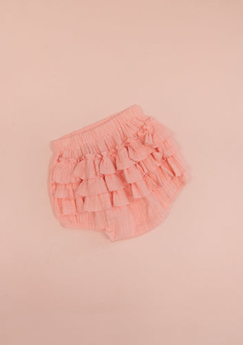 Ruffle Bloomers | Flamingo. Bonnie & Harlo Australian stockist. Afterpay