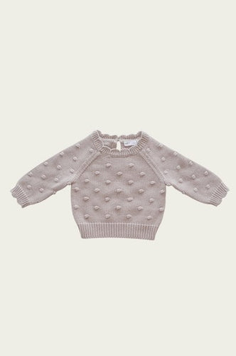 Dotty Knit | Rosebud. Jamie Kay Australian stockist. Afterpay available.