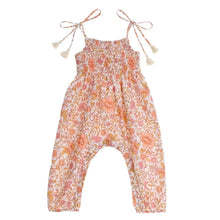 Load image into Gallery viewer, Tie Shoulder Jumpsuit | Floral