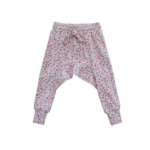 Jersey Harem Pants | Posey Floral {LAST ONE Size 0000}