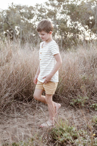 Chino Shorts | Golden Linen