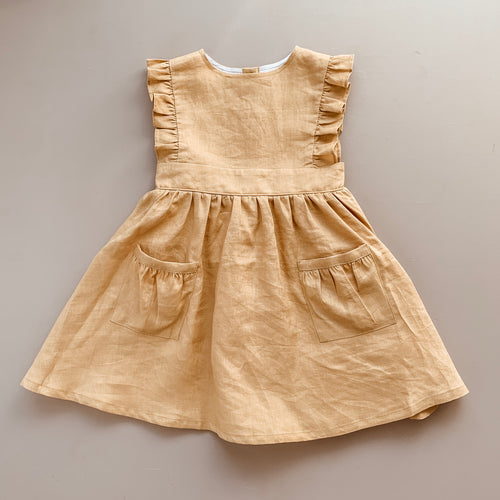 Dress | Golden Linen