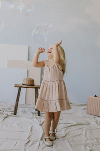 Hazel Dress | Rose Dust