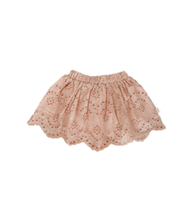 Load image into Gallery viewer, Broderie Anglaise Skirt | Hazelnut. India + Grace Australian stockist. Afterpay