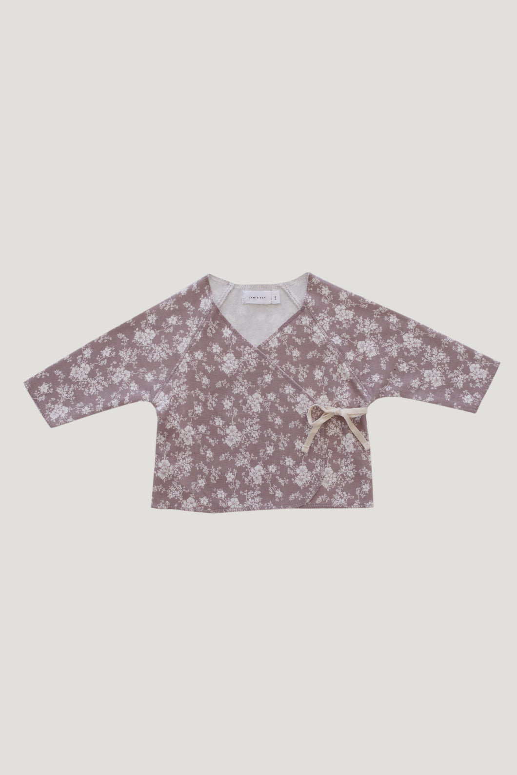 Wrap Top | Fawn Floral {LAST ONE Size 6-12m}