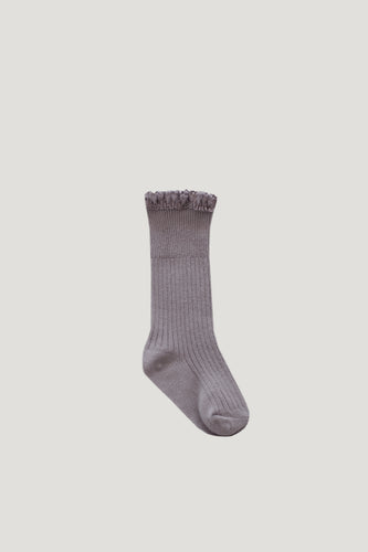 Frill Socks | Fawn. Jamie Kay Australian stockist. Afterpay available.