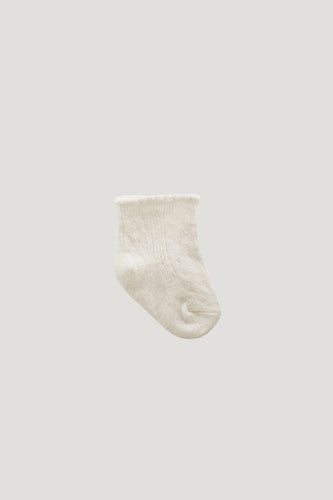 Tilly Socks | Milk. Jamie Kay Australian stockist. Afterpay available.