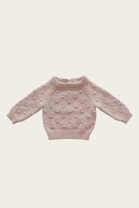Dotty Knit | Bubblegum Fleck