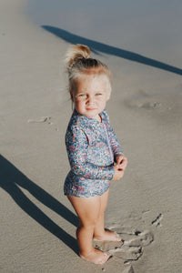 Maggie Rashsuit | Floral {LAST TWO Size 5}