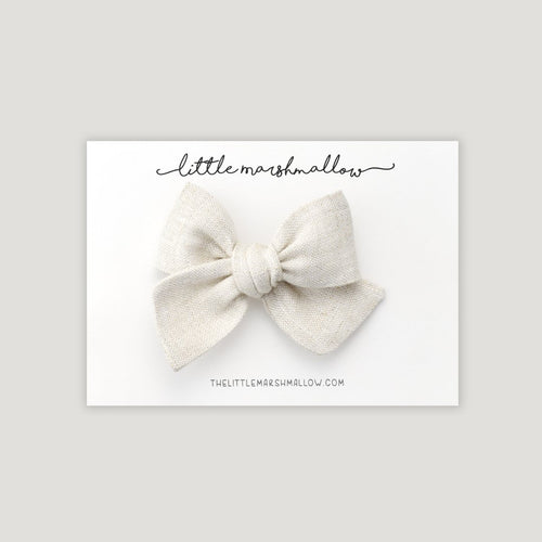 Pinwheel Bow | Natural