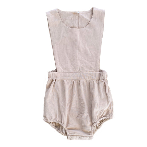 Leo Romper | Fawn. Ruffets and Co Australian stockist. Afterpay