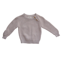 Load image into Gallery viewer, Knit Sweater | Stone {LAST ONE Size 2}