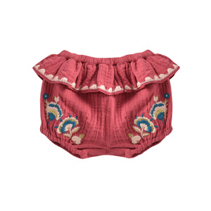 Vallya Bloomers | Burgundy