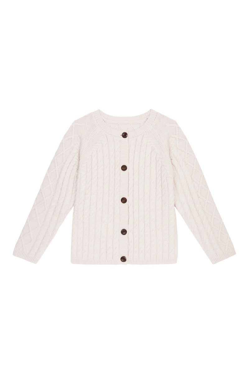 Maxwell Cardigan | Cream {LAST ONE Size 6}