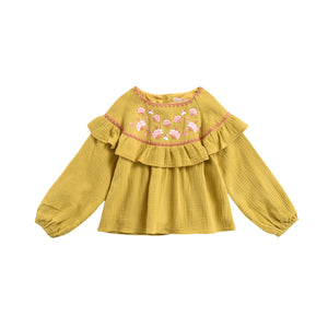 Andrea Blouse | Honey