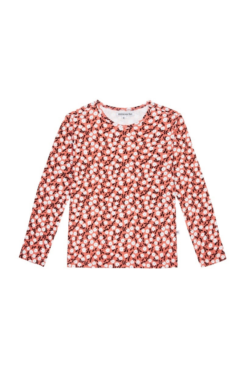 Long Sleeve T-shirt | Floral {LAST ONE Size 2}