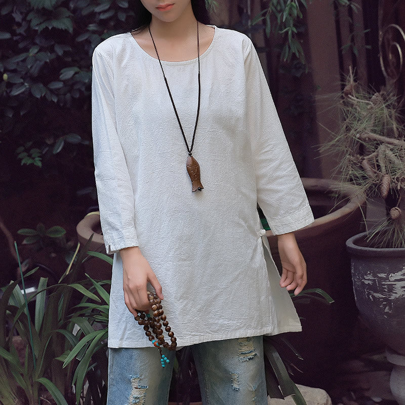 Simple Cotton Tunic