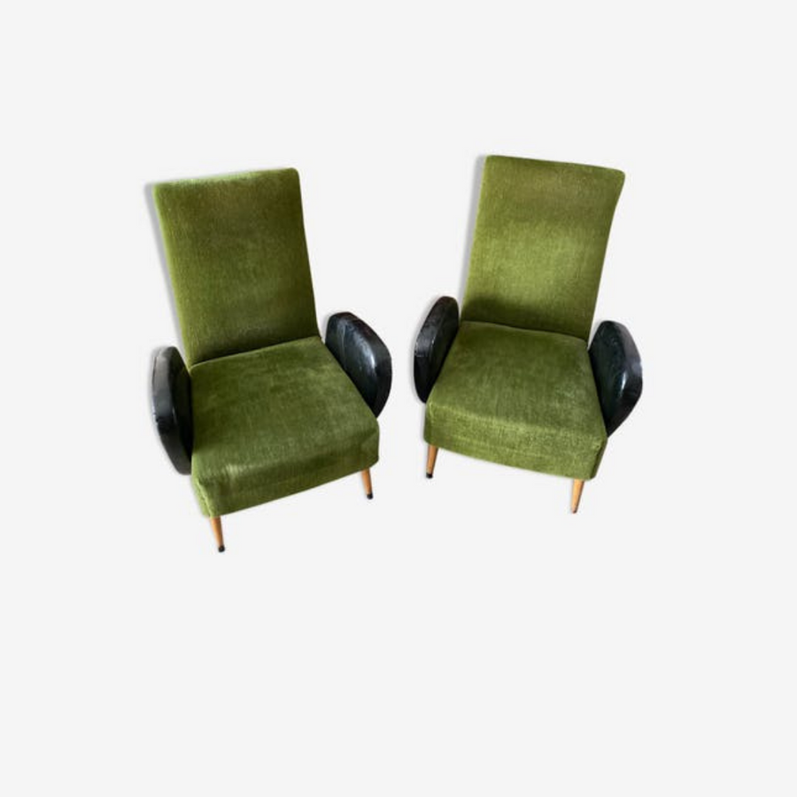 Pair of 60s armchairs