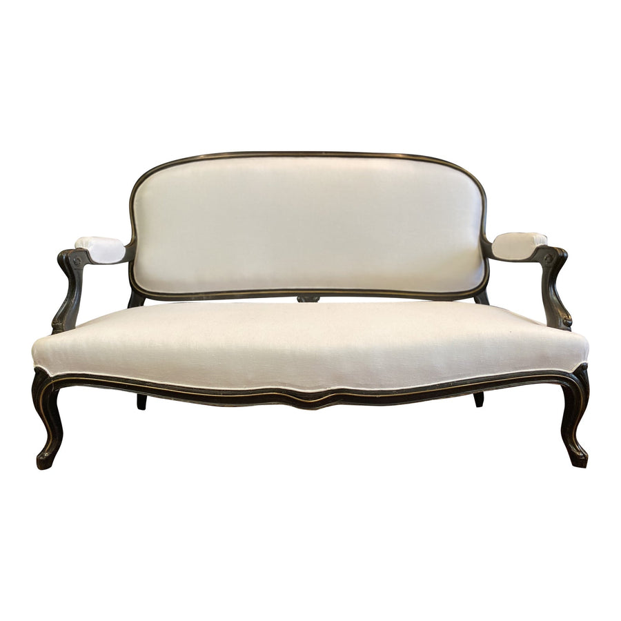 Late 19th Century Vintage French Napoleon III Settee - French Antiques www.Decoparis.com