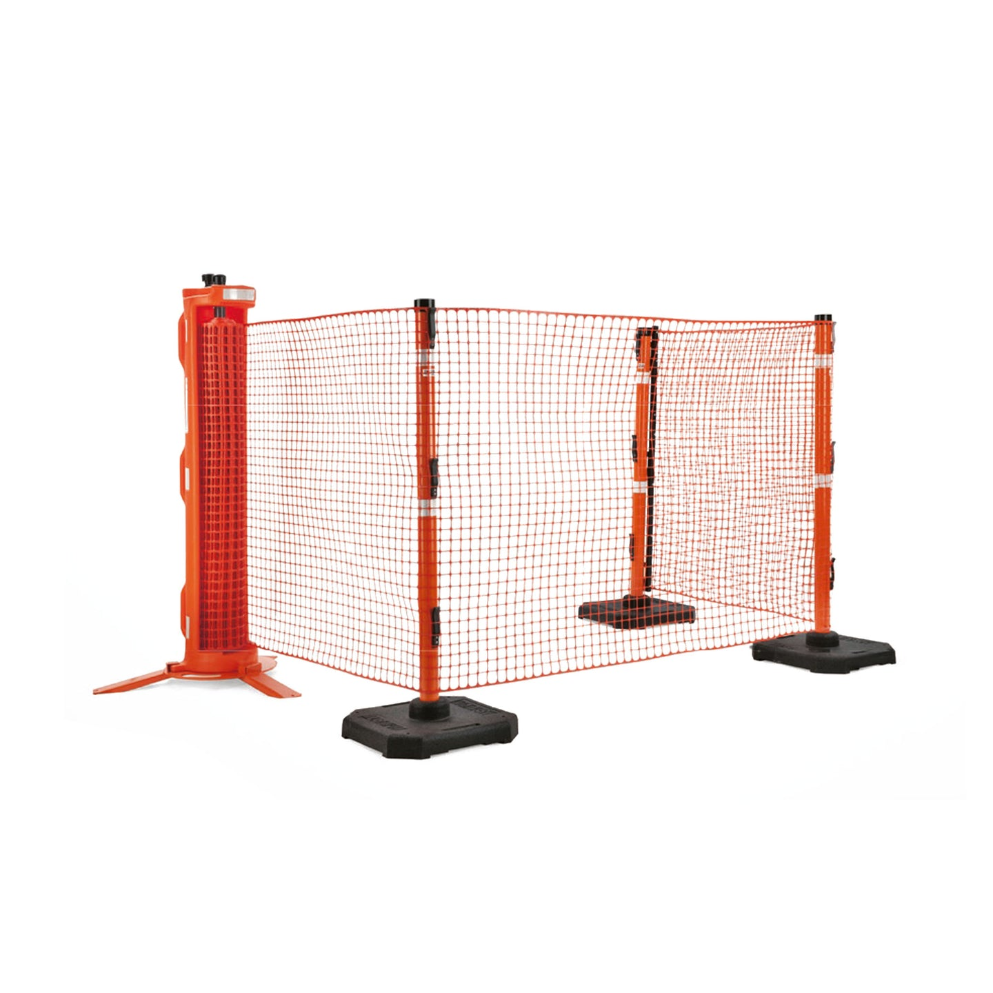 Rapid Roll - 15 meter with 4 posts and bases