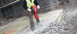 Powerful concrete demolition hammer - Hilti TE 3000-AVR