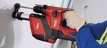 On-board vacuum system for convenient dust collection - Hilti TE DRS-4-A