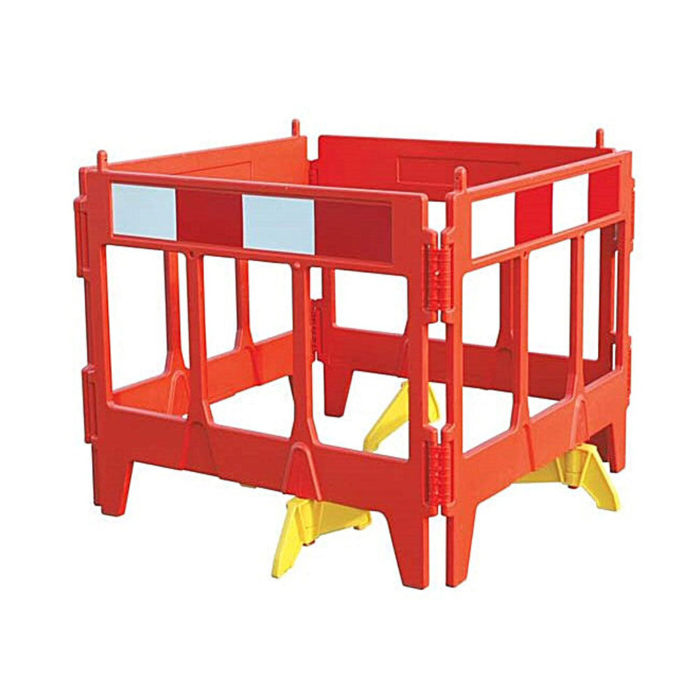 Vim Folding Barrier - Oxford Plastics