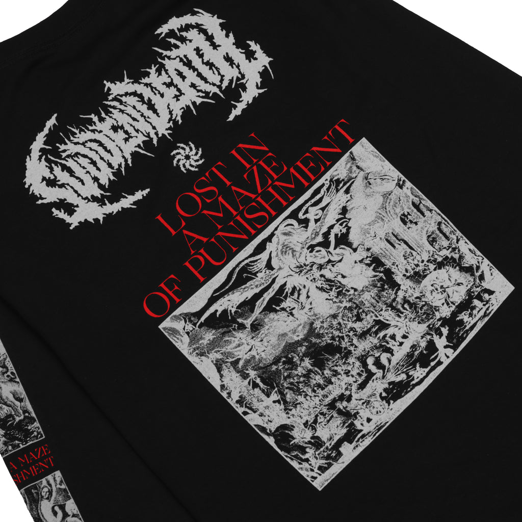 "SVDDEN DEATH ""Maze Of Punishment"" Long Sleeve"